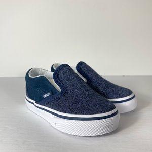 Vans Classic Slip-On Suede & Suiting Sneakers